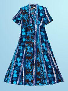 Vintage Dress ON SALE Maxi Dress Size M Boho Chic Tagged Norton Menaughton