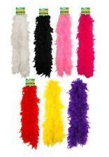 Boa, sciarpe e ghirlande rosa per carnevale e teatro