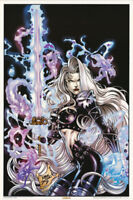 POSTER :FANTASY :  LADY DEATH by MIKE DEODATO, JR.  - FREE SHIP !  #3173  LP59 N