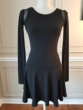 Brand New with tags Elizabeth and James black stretchy party Dress SIZE XS