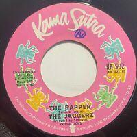The Jaggerz – The Rapper / Born Poor: Kama Sutra 1970 Vinyl 45 RPM Funk Soul