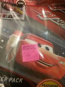 CARS 3 TRADING CARD GAME, FULL SET X144 +2 LIMITED EDITIONS. +BINDER