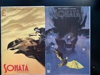 Sonata #1 Covers A and B Image Comics NM