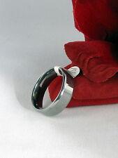 Gorgeous Tungsten Steel Men's Ring 12.25 CAT RESCUE