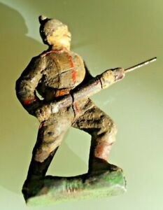 Soldier Old Lineol Great Size 10 CM Prussian Composition 1920