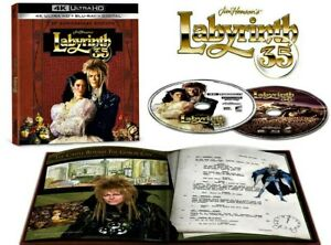 LABYRINTH 4K ULTRA HD 35TH ANNIVERSARY DIGIBOOK / 4K DOLBY VISION /WORLDWIDE P+P
