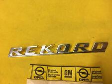 NEU ORIG Opel Rekord C 1,7 Emblem Schriftzug 1700 L Kofferdeckel Heckklappe NEW