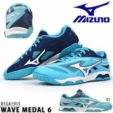 Mizuno Table Tennis Shoes Wave Medal 6 81Ga1915 Light Blue x White x Blue