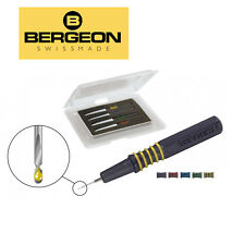Bergeon 7013 High Precision Watch Oilers Stainless Steel Electropolished Needles
