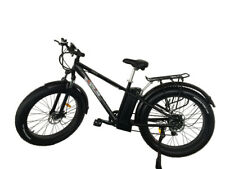 26''SNOW ELECTRIC EBIKE  36V10AH Li-ion BATTERY FAT TYRE CYCLE BICYCLE NEW UK