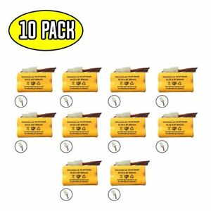 (10 pack) 4.8v 800mAh Ni-CD Battery Pack Replacement for Emergency / Exit Light