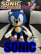 "NEW! Sonic the Hedgehog Large 12"" Plush Stuffed Authentic SEGA Toy"