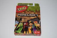 UNO Minecraft Edition Card Game Mattel Games