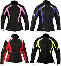 Hivis Womens Motorbike Motorcycle Waterproof Jacket All Sizes M