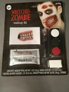 Fun World Makeup Kit NEW! Halloween Zombie - You choose which ones you want