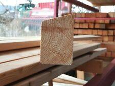 Zaunlatten 80x9x2 sibirische Lärche A klasse Holzzaun Zaunlatte geschliffen