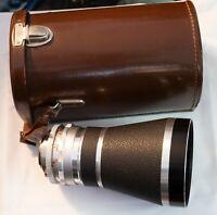 Voigtlander Super Dynarex 200mm f4 Deckel-Mount (DKL) Lens - Vintage