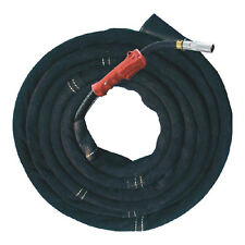 AP-9008 TIG Black Soft Grain Pigskin Leather Welding Torch Cable Cover 12' Long