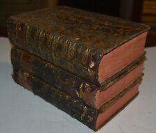 CICERONE - ediz. 1777 - EPISTOLAE FAMILIARES - 4 volumi in 3 - Napoli