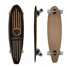 Easy People Longboards  PT-2 Pintail Widetail Longboard Complete Deck Natural