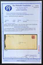 #491 on Legal size cover with PF Certificate # 552061, Nov. 29, 1916, Early Use
