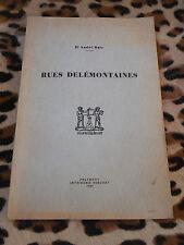 Rues delémontaines - André Rais - Delémont, 1946