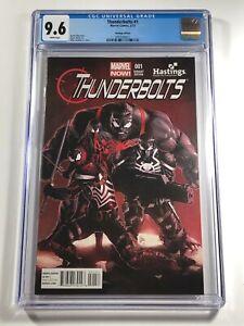 Thunderbolts #1 CGC 9.6 Hastings Variant Marvel 2013 - Venom Hulk Punisher