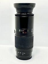 Objectif Tele-ZOOM AF MINOLTA/SONY ALPHA 75-300mm f/4,5-5,6 BIG BEERCAN + HOOD