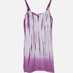 SOFT SURROUNDINGS Size Small Petite Womens Tie Dye Sunrise Nightgown Dress