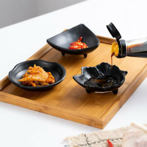 Kitchen Flavored Vinegar Sauce Snack Appetizers Tapa Sushi Seasoning Dish Tray