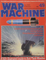 War Machine magazine Issue 49 fully illustrated guide to Anti-Tank Missiles