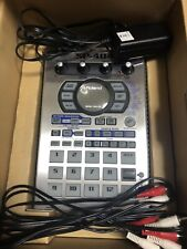 Roland SP-404 Portable Sampler Vintage Groovebox w/ Adapter MINT CONDITION