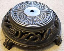 "12"" Diameter Cast Iron/Steel Base.  Rough Antique looking casting & finish.  NOS"