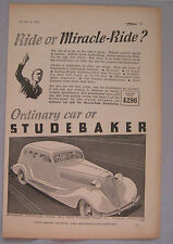 1935 Studebaker Original advert