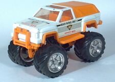 "Remco Tuff Ones Beach Patrol Rescue 4x4 Monster Truck 7"" Scale Model"