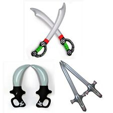 Inflatable toy children's toys props supplies Green Inflatable Pirate Sword