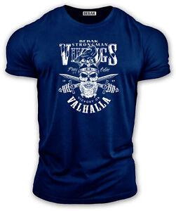 Mens Gym T Shirt | Bodybuilding T shirt VIKING STRONGMAN Training Top BEBAK