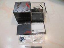 AKG P7E CARTRIDGE AND GENUINE AKG X7E STYLUS WITH ACCESSORIES IN DISPLAY CASE
