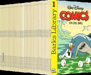 cas BARKS LIBRARY Comics von Carl Barks Nr. 1 - 51 komplett *Disney/Ehapa* Z 1-2