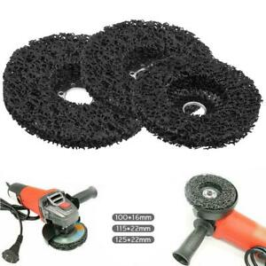 Poly Strip Disc Wheel Paint Rust Removal Clean For Angle Grinder 100mm 125mm