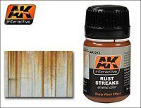 AK Interactive - Rust Streaks effects model making wash  AK00013