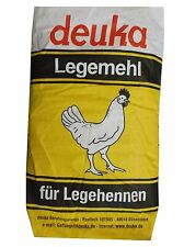 deuka Legemehl 25kg für Legehennen Mehl Geflügelfutter Hühnerfutter Lege-Futter