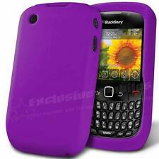 CUSTODIA COVER CASE SILICONE COLORE VIOLA BLACKBERRY CURVE 8520 8530 9300 9330