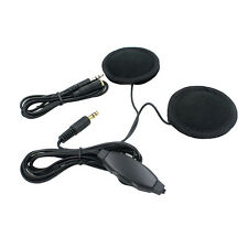 Motorcycle Helmet Interphone Intercom Mic/Headphone Speaker Headset MP3 iPod NEW