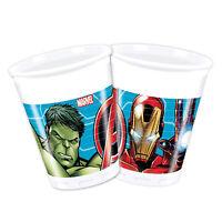 Vasos De de Plástico Oficial Marvel Avengers Fiesta De Cumpleaños 40Pz 1406