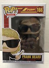 Funko Pop Rocks Frank Beard ZZ TOP 166 New In Box w/ Protector