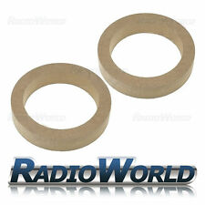 """5.25"""" 130mm MDF Speaker Spacer Mounting Rings 30mm Thick ID 116mm ED 155mm Pair"""