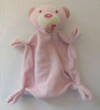Paradise Toys Bär Maus in rosa Schmusetuch Kuscheltuch Schnuffeltuch 21cm