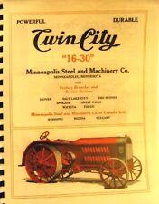 "1918-1919 Twin City Minneapolis-Moline ""16 -- 30"" Tractor Sales Manual"