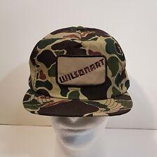 VTG Wilsonart Truckers Hat Baseball Cap Camouflage Snapback Made in USA